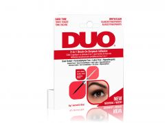 DUO 2-in-1 Brush-On Striplash Adhesive (Dark & Clear)