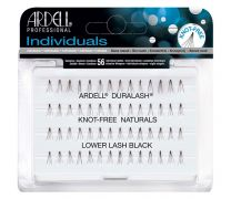KNOT-FREE NATURALS LOWER LASH INDIVIDUALS - SHORT