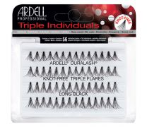 Ardell Knot-Free Flared Triple Lash Individuals, Long, 56-Count