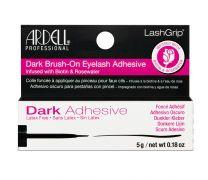 LashGrip® Brush-On Lash Adhesive, Infused with Biotin & Rosewater, Dark, 0.18 oz