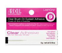 LashGrip® Brush-On Lash Adhesive, Infused with Biotin & Rosewater, Clear, 0.18 oz