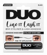DUO Line It Lash It, 2-in-1 Eyeliner and Lash Adhesive, 0.12 oz