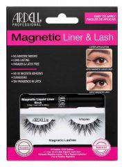 Ardell, Magnetic Liquid Liner & Lash Kit, Wispies™