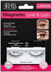 Ardell, Magnetic Liquid Liner & Lash Kit, Lash 110