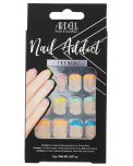 Ardell, Nail Addict Premium Artificial Nail Set, Rainbow French Tips