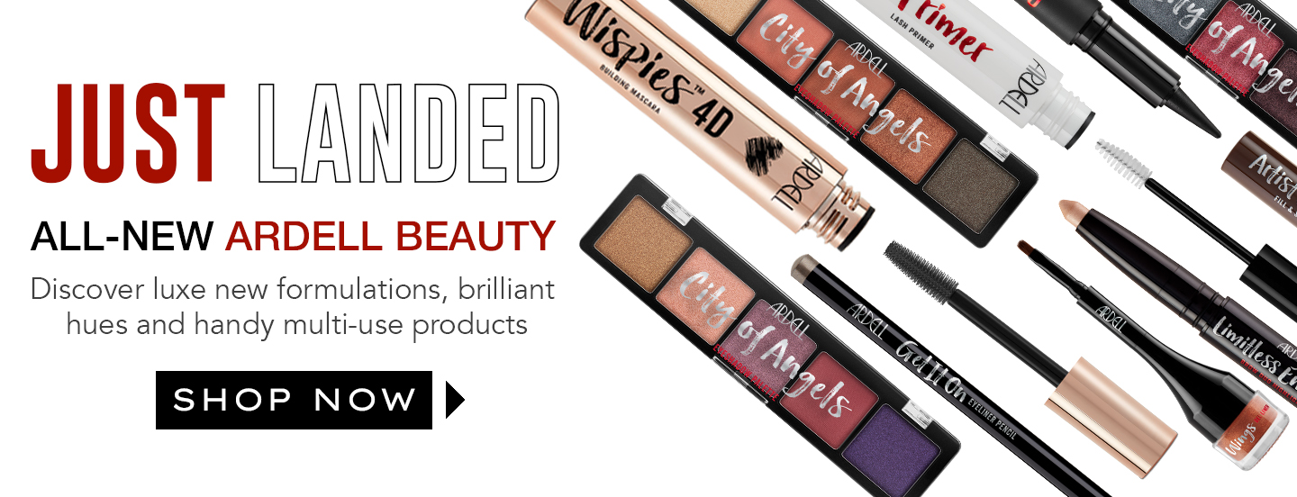 Ardell Beauty New Makeup Products Banner